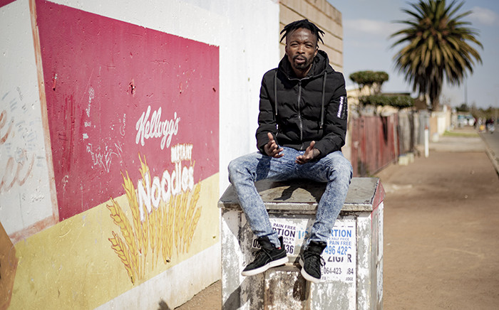 28-year-old Neo Matsobane from Thokoza in Ekurhuleni has been selected as a member of government's youth brigades programme. Picture: Sethembiso Zulu/EWN