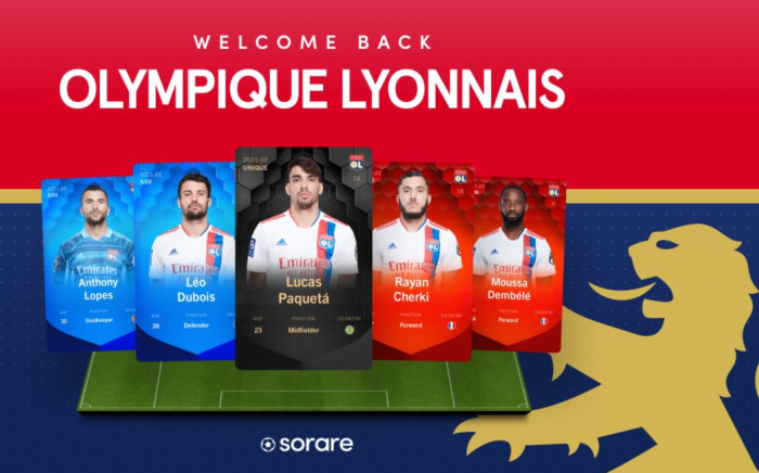 French gaming startup Sorare, which offers users the chance to collect and trade virtual football stickers. Picture: @SorareHQ/Twitter.