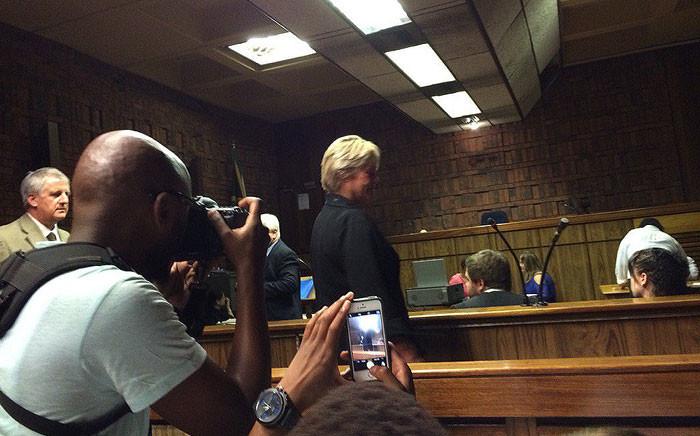 FILE: DA MP Glynnis Breytenbach in the Pretoria Regional Court. Picture: Barry Bateman/EWN.
