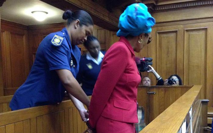 FILE: Thandi Maqubela takes her seat in the dock. Picture: Rahima Essop/EWN.