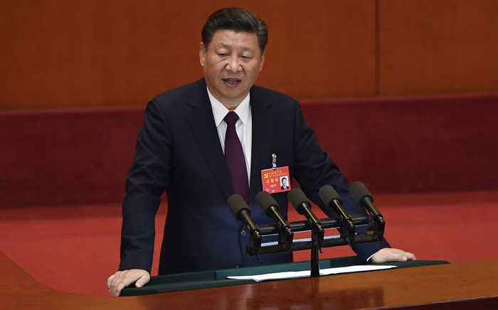 FILE: Chinese President Xi Jinping. Picture: AFP