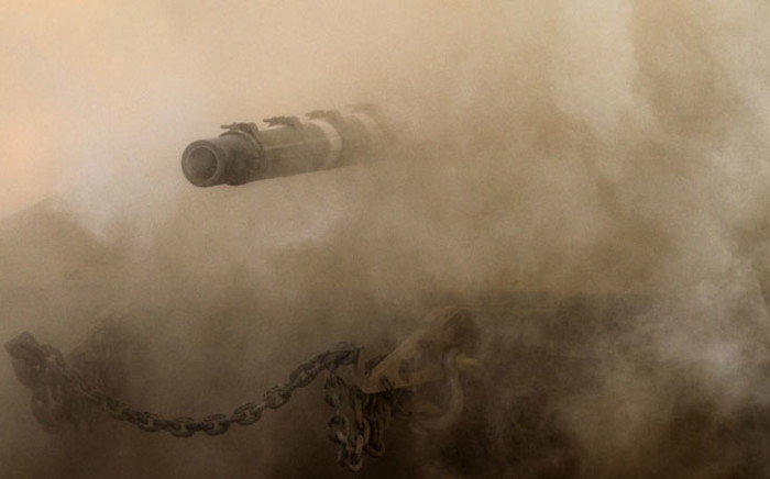 FILE: Israel remains on alert for any spillover from the civil war in neighbouring Syria. Picture: AFP.