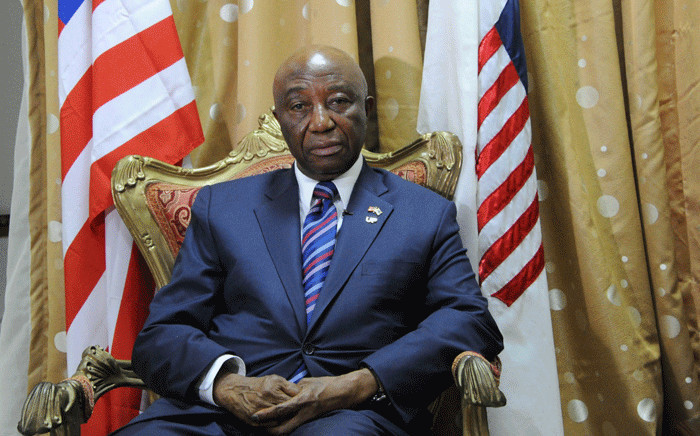 Liberia's Joseph Nyumah Boakai in Monrovia on 20 March 2017. Picture: AFP