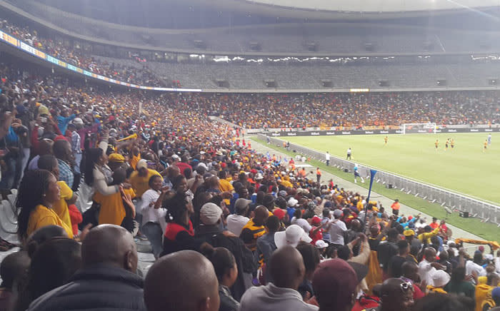 Kaizer Chiefs on Saturday 20 February 2016, moved up to 3rd place, closing the gap on league leaders Sundowns after a dramatic 2-1 win against Supersport United in Cape Town. Picture: @KaizerChiefs via Twitter.