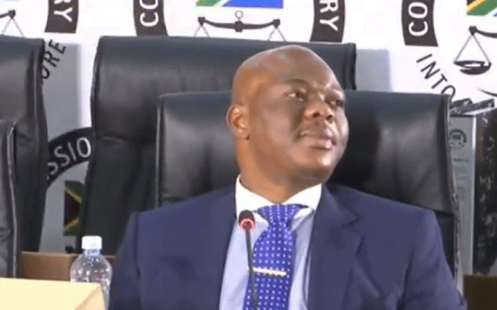 FILE: A screengrab shows Edwin Sodi at the state capture inquiry on 19 August 2020. Picture: SABC/YouTube
