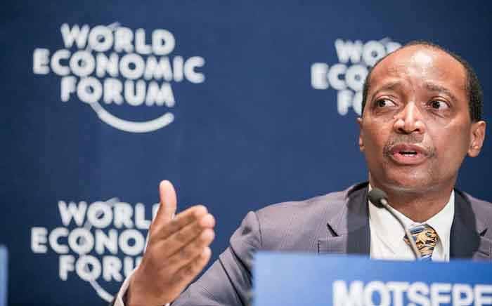 FILE: Patrice Motsepe at the World Economic Forum on Africa 2015 in Cape Town. Picture: World Economic Forum/Benedikt von Loebell