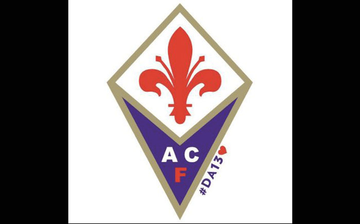 FILE: AFC Fiorentina ]logo. Picture: @acffiorentina/Twitter.