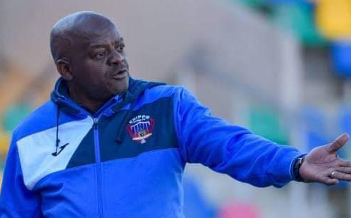 Re-appointed Chippa United coach Dan Malesela. Picture: Twitter.