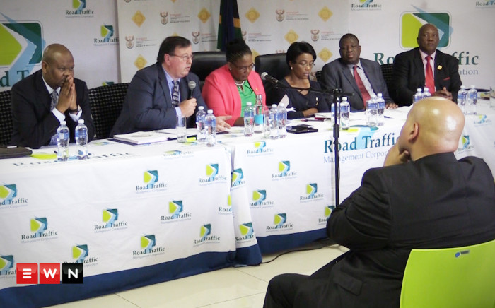 Transport minister Dipuo Peters announced the statistics of road fatalities which took place over the festive season in Pretoria on Tuesday, seeing a 14% increase.Picture : Kgothatso Mogale/EWN