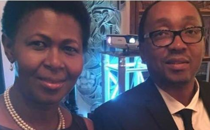 Cynthia Nzuza with Sipho Nzuza. Picture: Supplied