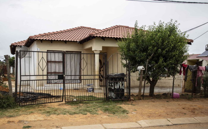 The home where seven people were killed in Vlakfontein. Picture: Abigail Javier/EWN