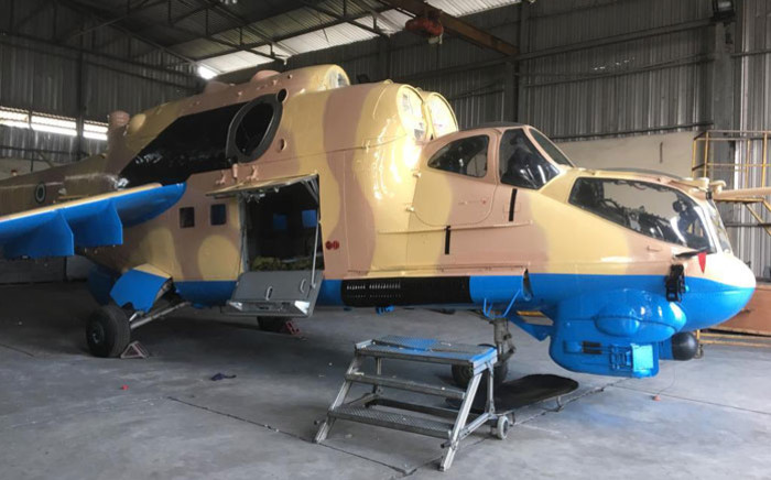 FILE: A Nigerian military helicopter. Picture: Hqnigerianairforce/Facebook.com