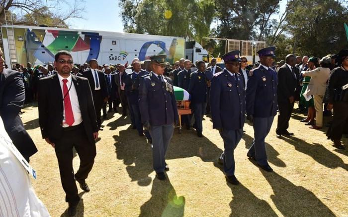 Zondeni Sobukwe's funeral. Picture: SA Government.