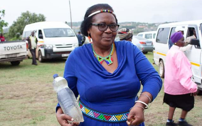 Murdered environmentalist and human rights campaigner Fikile Ntshangase. Picture: @Macua_sa/Twitter