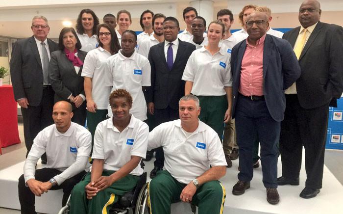 Rio 2016 Team SA. Picture: Marc Lewis/EWN.