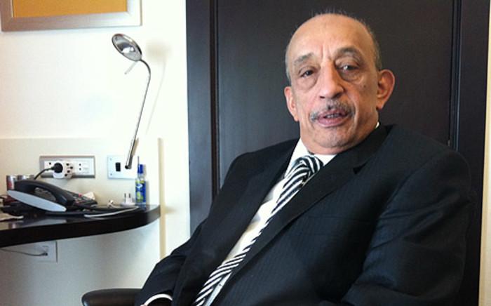Jordanian banker Farid Alshabbar. Picture: Mandy Wiener/EWN