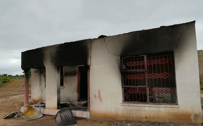 The murder of Sebongile Nkanyane sparked violence in the area which resulted in the torching of four houses. The suspects for these arson cases are still being sought. Picture: SAPS.