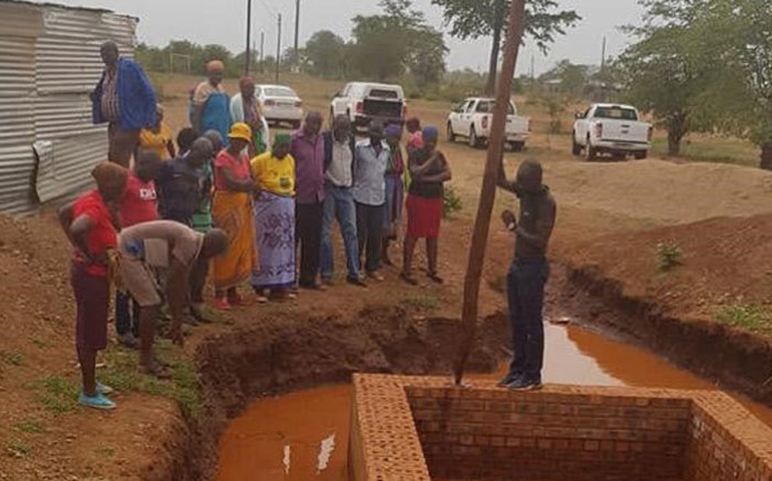FILE: The abandoned trench at the Homu village in Giyani in which 6-year-old Nsuku Mhlongo drowned. Picture: Mike Maringa.
