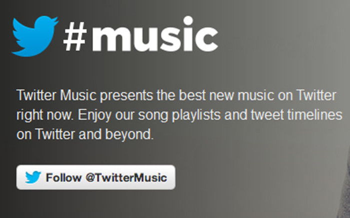 Twitter #music will enable users to embed music inside a tweet using Twitter Audio Card. Picture: Twitter.