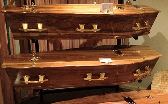 Coffins. Picture: Giovanna Gerbi/EWN
