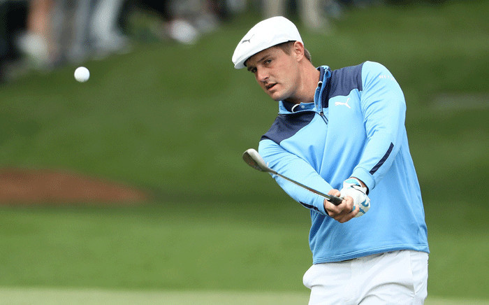 FILE: Bryson DeChambeau of the United States plays his second shot on the seventh hole during the final round of the 2018 Masters Tournament at Augusta National Golf Club on 8 April 2018 in Augusta, Georgia. Picture: Getty Images/AFP.