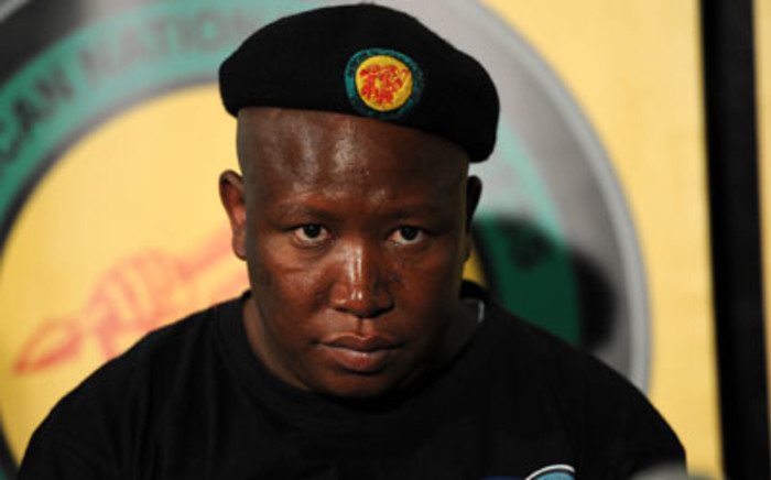 ANC Youth League President Julius Malema. Picture: EWN