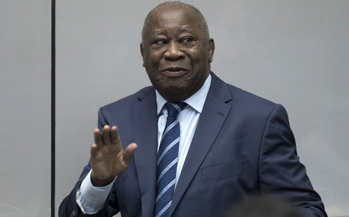 FILE: Former Ivory Coast President Laurent Gbagbo enters the courtroom of the International Criminal Court in The Hague on 15 January 2019. Picture: AFP