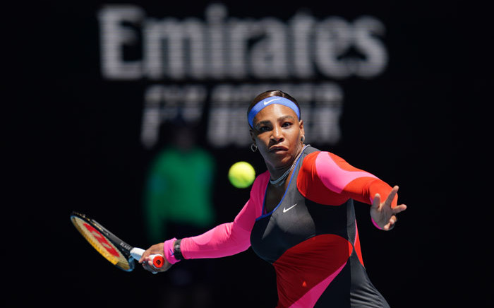 Serena Williams defeated Serbian Nina Stojanovic in just 69 minutes in their Australian Open match on 10 February 2021. Picture: @AustralianOpen/Twitter