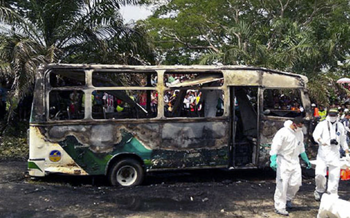 FILE: Attackers ambushed a bus and killed 28 people on Saturday in northeast Kenya. Picture: AFP.