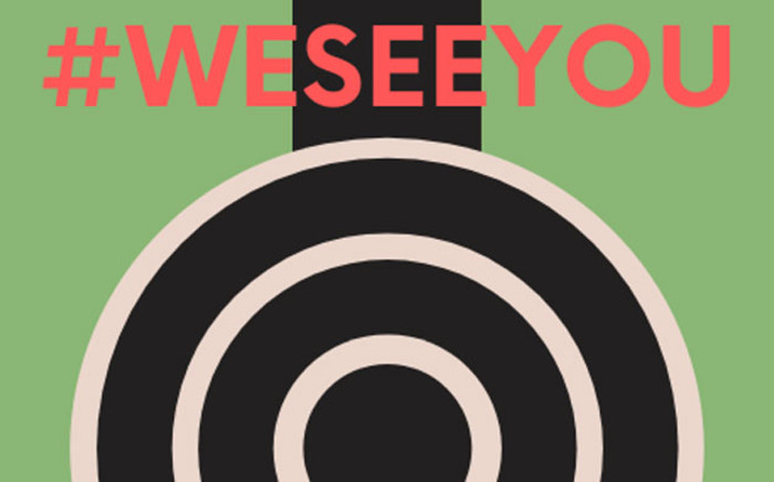 The logo for the #WeSeeYouactvist group. Picture: Facebook We See You