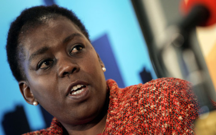 Nozizwe Madlala-Routledge. Picture: AFP.