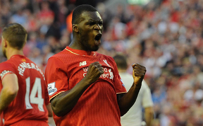 Liverpool's striker, Christian Benteke celebrates his goal against Leicester City on Boxing Day Premier League clash. Picture: Official Liverpool Facebook page.