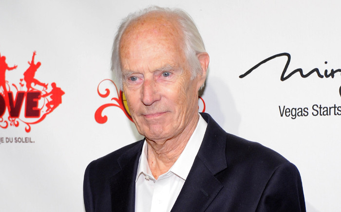 Music producer Sir George Martin attends the fifth anniversary celebration of 'The Beatles Love' by Cirque du Soleil show in 2011 in Las Vegas, Nevada. Picture: AFP.