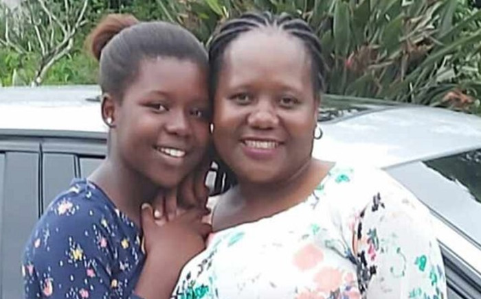 Zesuliwe Mazubane with her mother. Picture: play.mtn.co.za/