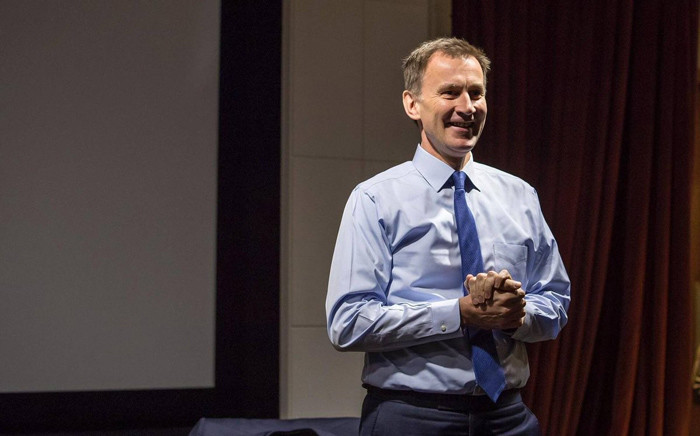 """At his campaign launch, Foreign Secretary Jeremy Hunt lambasted the gaffe-prone Johnson, presenting himself as a """"serious leader"""" for """"serious times"""". Picture: @Jeremy_Hunt/Twitter"""