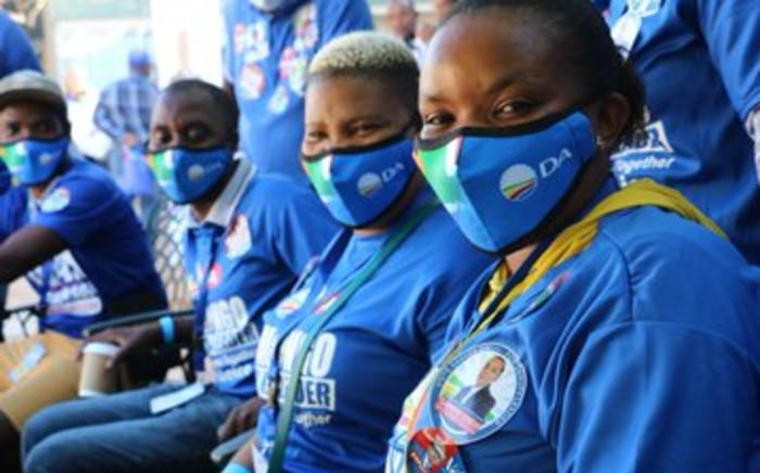 Delegates ready to elect new KZN leadership in at the Durban ICC on Saturday, 27 March 2021. Picture: @DA_KZN/Twitter
