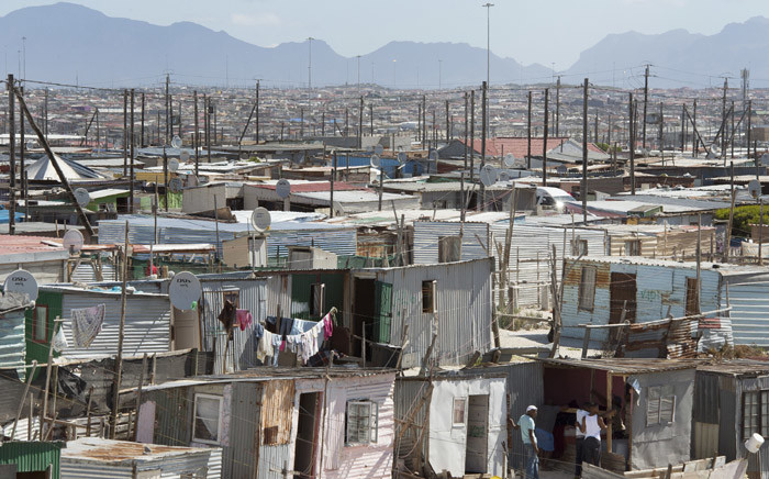 A general view of Khayelitsha, in Cape Town, on 31 March 2020. Picture: AFP