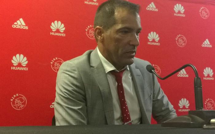 Ajax Cape Town head coach Roger de Sa has stepped down. Picture: Twitter/@ajaxcapetown.