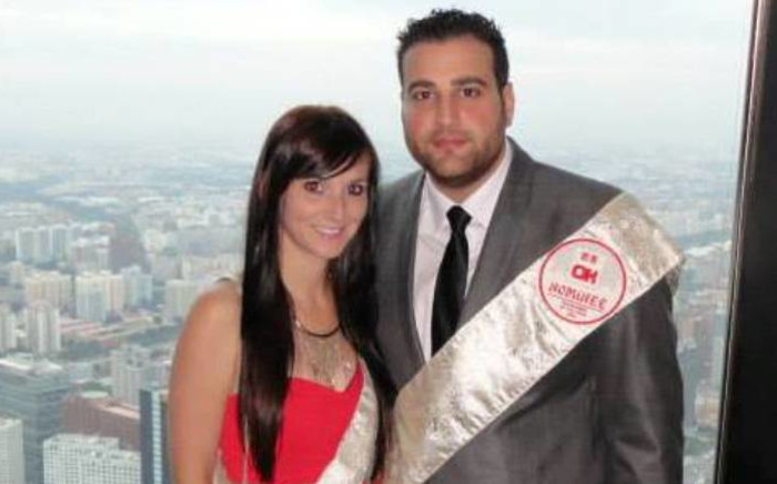 Jayde and Christopher Panayiotou. Picture: facebook.com