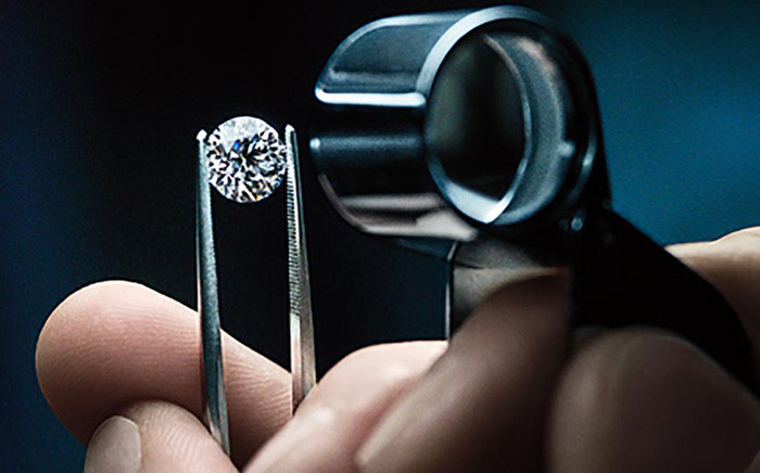 A general view of a Tiffany diamond engagement ring. Picture: @Tiffany/Facebook.com.