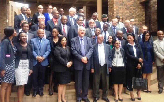 Everyone involved in the Farlam Commission of Inquiry since October 2012. Picture: Gia Nicolaides/EWN.