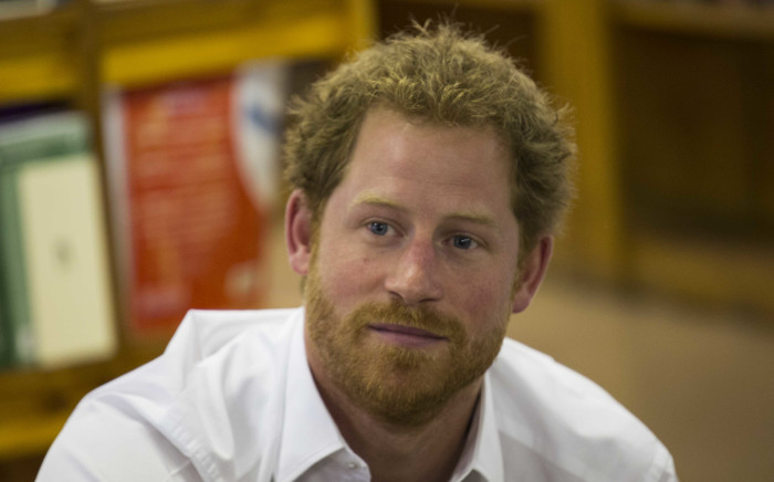 Prince Harry visits the Siyabonga Secondary School in Soweto as one of the last stops of his South African visit in December 2015. Picture: Christa Eybers/Eyewitness News