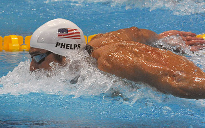 Michael Phelps in action. Picture: Sascoc