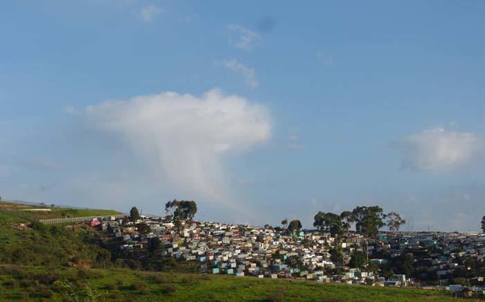 A general view of Kayamandi in Stellenbosch. Picture: @Kayamandiparkrun/Facebook.com.