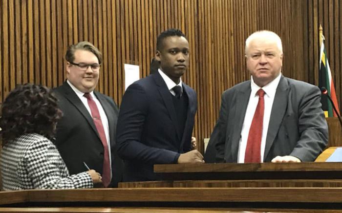 Duduzane Zuma appears in the Randburg magistrates court on 12 July 2018. Picture: Barry Bateman/EWN