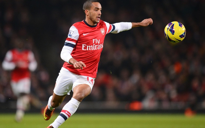 FILE:Arsenal forward Theo Walcott. Picture: Official Arsenal FC Facebook Page