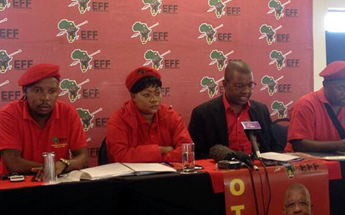 FILE: Two members from the EFF received medical treatment in the Gauteng Legislature on Tuesday. Picture: Govan Whittles/EWN.