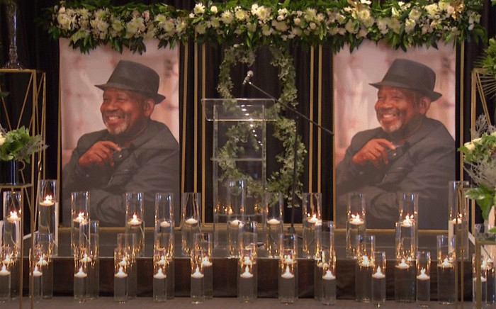 Many friends and colleagues paid tribute to former Eskom board chair Jabu Mabuza during a virtual memorial service on 21 June 2021. Picture: YouTube screengrab.