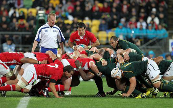 Springboks vs Wales in the Rugby World Cup quarterfinal at Twickenham on 17 October 2015. Picture: Rugby World Cup @rugbyworldcup.