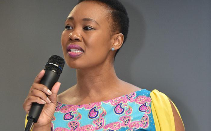 Minister of Communications Stella Ndabeni-Abrahams. Picture: GCIS.